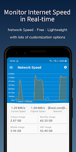Network Speed - Monitoring (Unreleased) мод