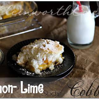 Lemon Lime Soda Cobbler.