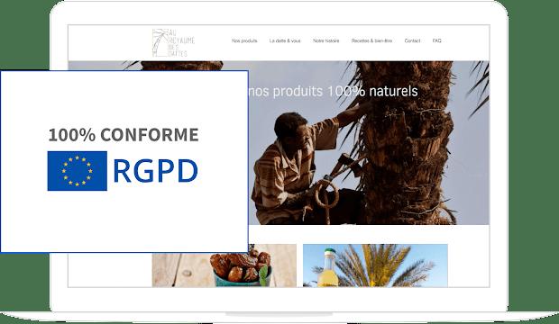 création site internet conforme RGPD