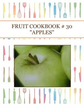 "FRUIT COOKBOOK # 30 ""APPLES"""