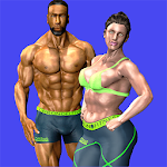 3D Home Workout Icon