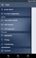 Screenshot of Provision
