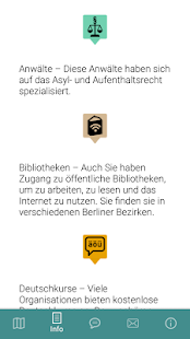Arriving in Berlin App – Miniaturansicht des Screenshots