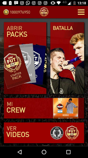 Fut Rap Cartas 1.0.0 screenshots 1