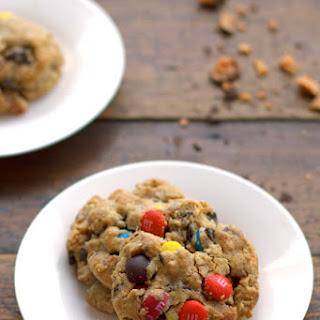 Butterfinger Monster Cookies.
