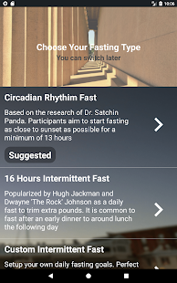 Sun-based Fasting Tracker - Circa Fasting Screenshot