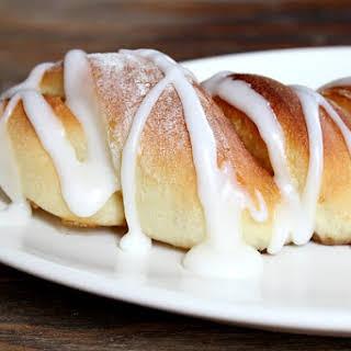 Cinnamon Twist Pastries.
