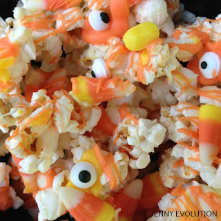 Halloween Monster Popcorn Candy Mix