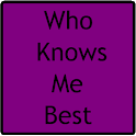 Who Knows Me Best: Ultimate BFF Quiz icon