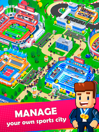 Idle Sports City Tycoon Game: Build a Sport Empire apkpoly screenshots 17