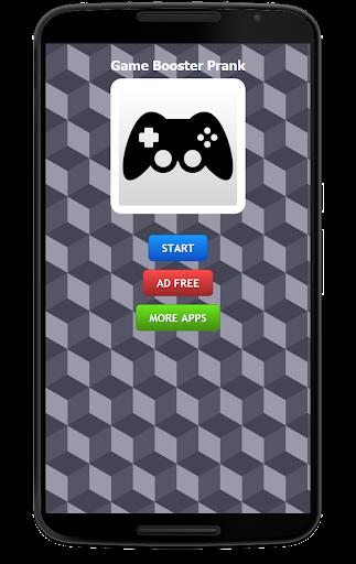 Game Booster Prank FREE