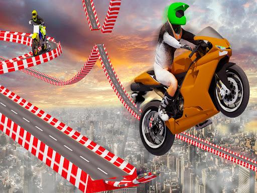 Stunt Bike Impossible Tracks-Race Moto Drive Game image | 11