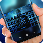 blue galaxy Alan Walker Keyboard
