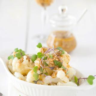Cauliflower Salad with Walnut & Garlic Dressing.
