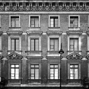 Windows by Hadinur Jufri - Buildings & Architecture Other Exteriors ( hadinur, black and white, warsaw, poland )