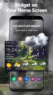 Daily Weather Live Widget - náhled