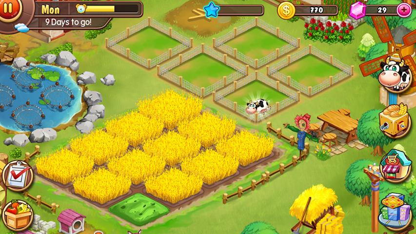 android Virtual Farm Business Village Screenshot 5