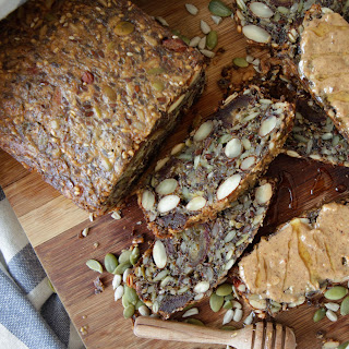 Nut and Seed Bread (Grain & Gluten Free, Dairy Free).
