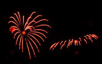 Photo: Heart firework