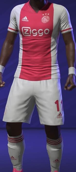 FIFA 21 Ajax Home Kit