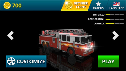 Real Fire Truck Driving Simulator: Fire Fighting apkmr screenshots 4
