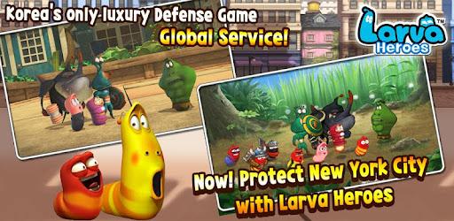 Larva Heroes: Lavengers Apk Download Free for PC, smart TV