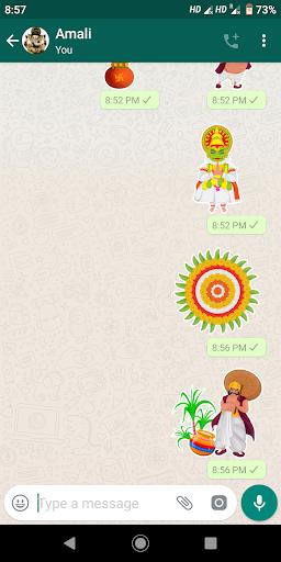 Onam Stickers for Whatsapp screenshot 4