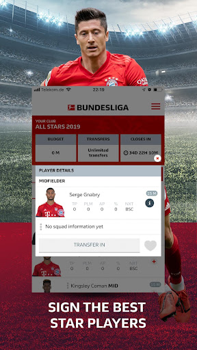 Official Fantasy Bundesliga screenshots 3