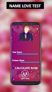 Love calculator name tests