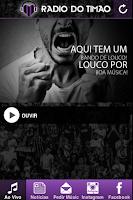 Screenshot of Rádio do Timão