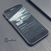 Gradien theme for KLWP