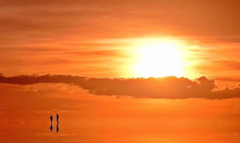 Passeggiando al tramonto di Luciano Fontebasso