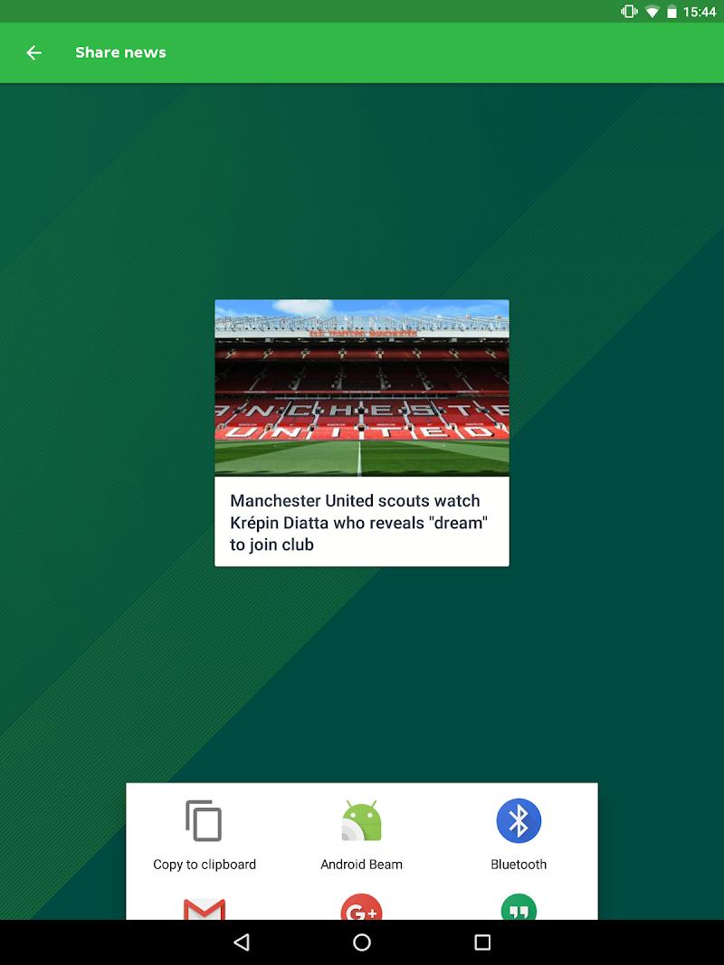 Onefootball Live Soccer Scores Screenshot 9