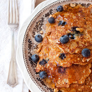 Oatmeal-Blueberry Pancakes