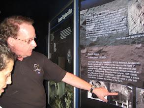 Photo: JSC Lunar Exhibit Host