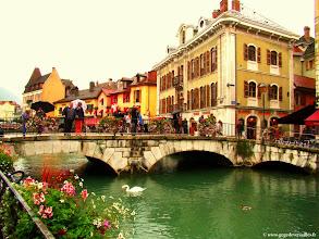 Photo: #024-Annecy et ses canaux fleuris.