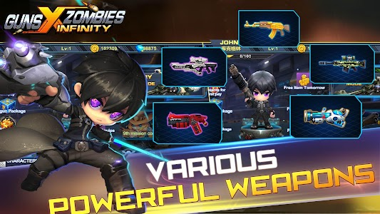Guns X Zombies v2.1 Mod Money