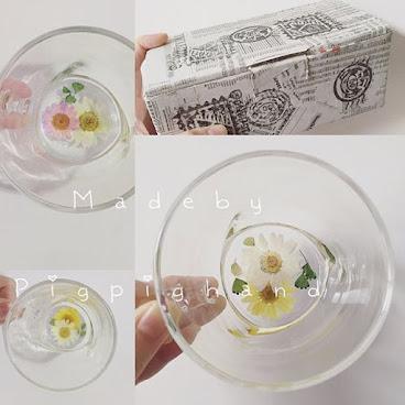 雛菊玻璃杯