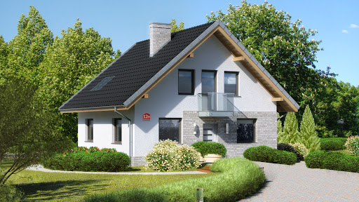 projekt Dom przy Cyprysowej 12 N