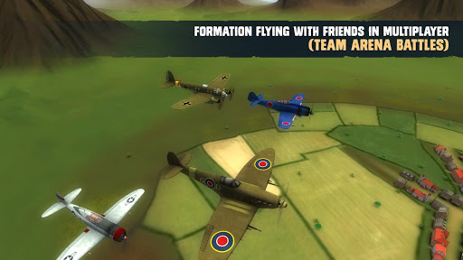 War Dogs : Air Combat Flight Simulator WW II  captures d'u00e9cran 2