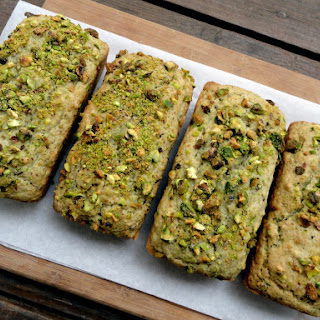 Vegan Pistachio Bread.