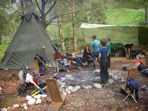 Photo: Nachmittags im Camp