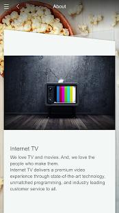 Internet TV screenshot