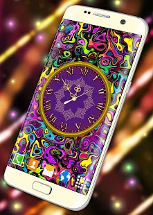 Beautiful Clock Live Wallpaper - náhled