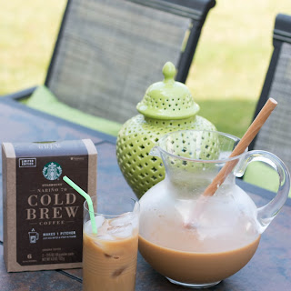 Easy Caramel Cold Brew Coffee.
