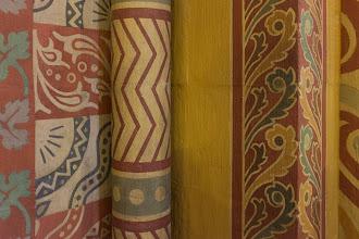 Photo: Painted columns.
