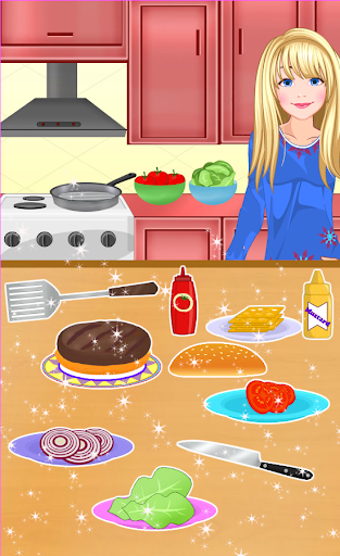 Burger Maker - Girl Cooking  screenshots 4