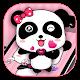 Pink Cute Bowknot Panda Theme Download on Windows
