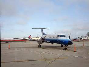 Photo: An EMB145 on the tarmac at LAX
