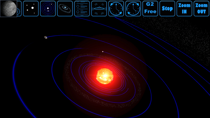 Space Orbit 3D Simulation Free - screenshot